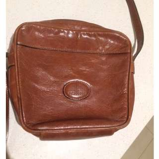 Cellini Vintage Buffalo Hide Leather Bag