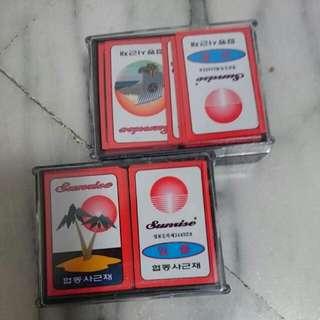 韓國花牌塑膠卡