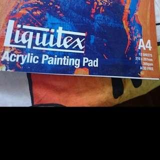 LIQUITEX Arcylic Painting Pad