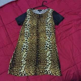 Size M Leopard Dress