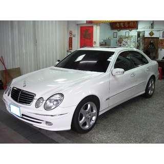 **代友託售** 2004年 Benz/賓士《E240》頂級 Avantgarde W211型 2.6L