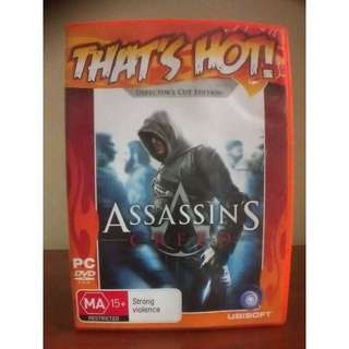 Original Assassins Creed PC CD-ROM - good condition - disc used once