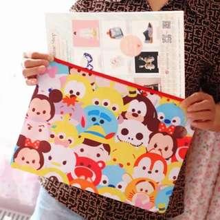 迪士尼Tsumtsum雙層文件袋