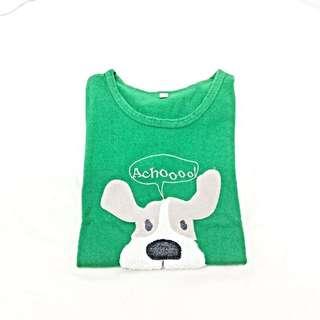 可愛狗狗t-shirt