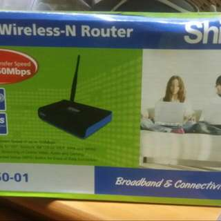 WIRELESS N-ROUTER 150 mbps