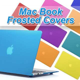 MacBook Frosted Protection Covers