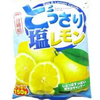 可康海鹽檸檬糖150克