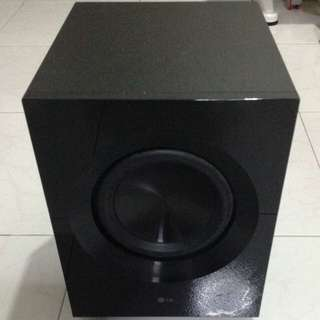 LG Home Theatre System Passive Subwoofer S72B1-W