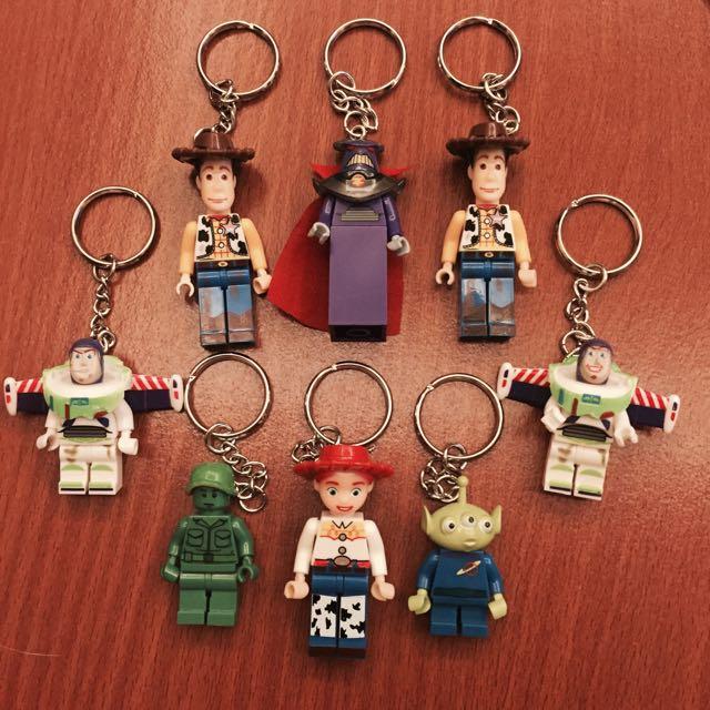 玩具總動員樂高鑰匙圈❤️