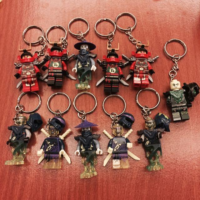 幻影忍者樂高鑰匙圈❤️