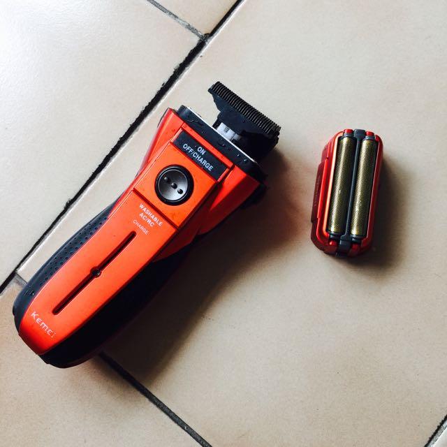 防水電動刮鬍刀可充電