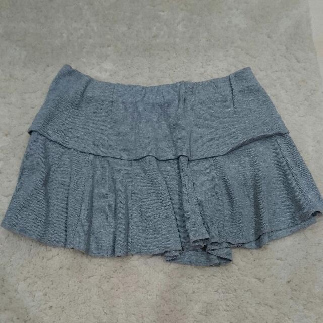 🆕灰色運動風短裙