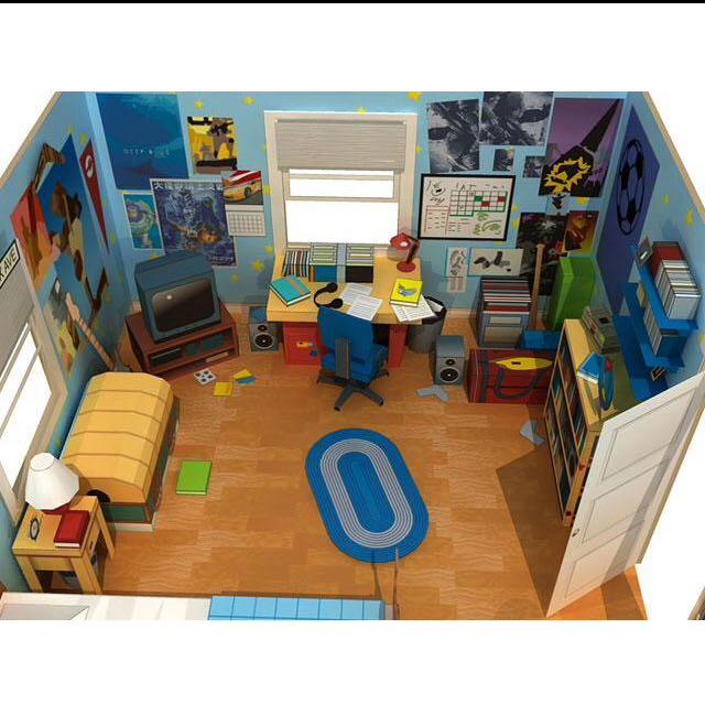 迪士尼 安迪的房間