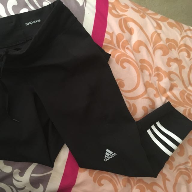 Adidas Response Climate 3/4 Tights Size XS (fit AU 6-8)