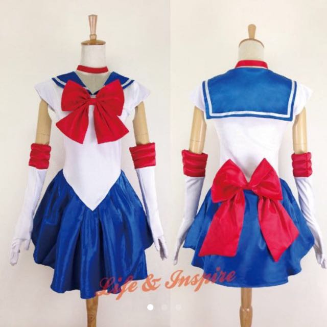 Cosplay美少女戰士日本動漫水手服月光仙子角色扮演道具服Lolita