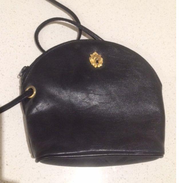 Genuine Vintage Leather - Witney Green Bag