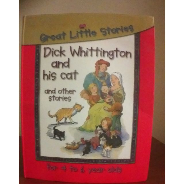 Great Little Stories: Dick Whittington and his cat - Hardback