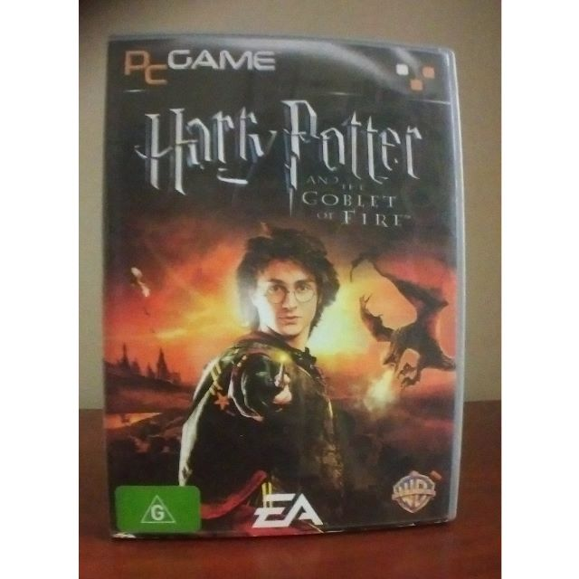 Harry Potter and the Goblet of Fire CD-ROM Game PC