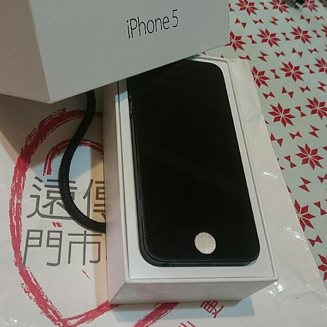 Iphone5 32g 黑 二手