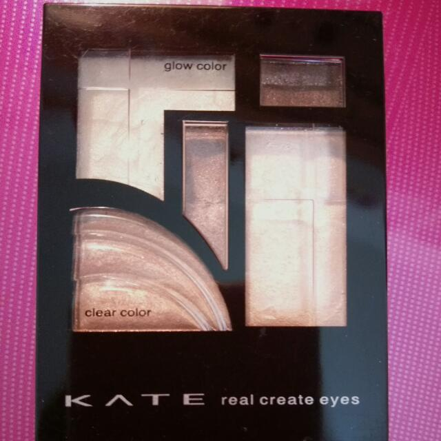 $免運$KATE real create eyes眼影