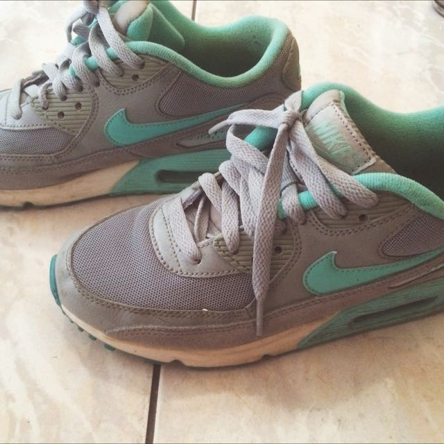 Nike Air Max Tiffany綠配灰