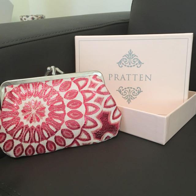 Pratten brand genuine leather purse