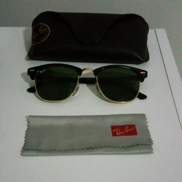 Ray-Ban Classic Clubmaster Sunglasses - Black