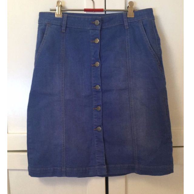 SABA Midi Denim Skirt Size 10