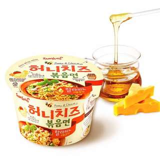 [INSTOCK!!!] Samyang Honey Cheese Bokkeum Myun 95G