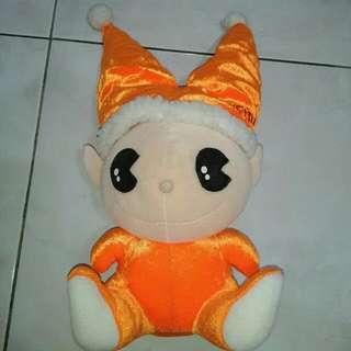 (全新)橘螢小精靈玩偶