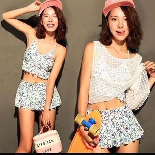 韓國時尚情侶泳裝👙
