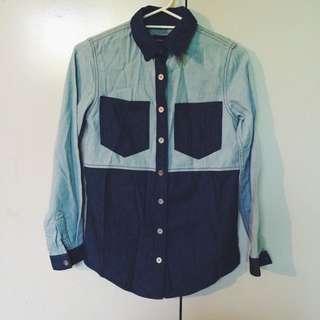 Minkpink Denim Shirt