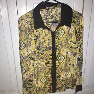 Brand New Textured Blouse