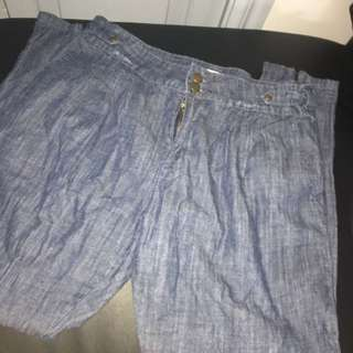 Barkins Skinny Leg High Waisted Jeans