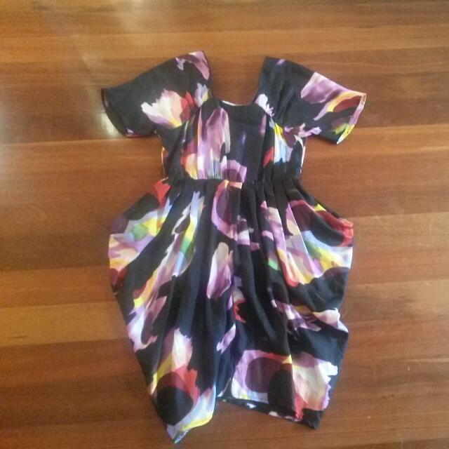 100% Silk Kinki Gerlinki Dress