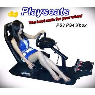 Playseats賽車架 + (保固)羅技G27全套組(展示商品) PS3 PS4