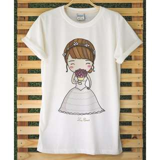 Bride & Bridegroom Wedding t-shirts
