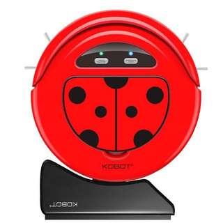 現貨【美國KOBOT】智慧型 掃地機器人 RV317(瓢蟲造型) 原價$6990