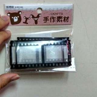 🚚 【文具】39mm×39mm相片 膠卷 卡片裝飾