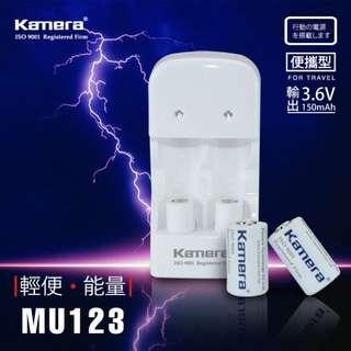 ██ CR2【電池】【充電組】CR123██ KAMERA 拍立得 MINI25 MINI50 SP1 可用 充電 電池