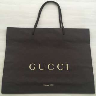 Almost Brand New Gucci Medium Size Paperbag For Sale!