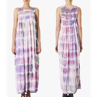 TOPSHOP Tie Dye Dress