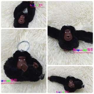 新款包包配件 玩趣猴子掛件鑰匙吊飾 森林毛絨猴子中號