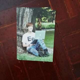 BTS 2ND MUSTER ZIPCODE 17520 PHOTOCARD (JHOPE)