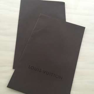 Almost Brand New Louis Vuitton Gift Envelope For Sale!