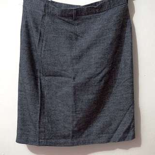 ✨ Black Skirt For Work