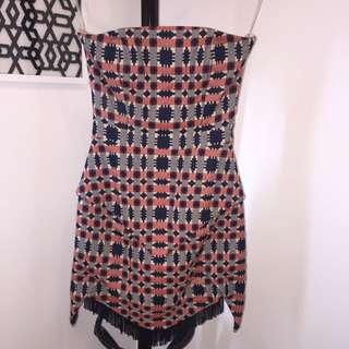 Sass & Bide Strapless Dress