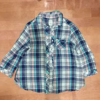 2way格子襯衫#兩百元襯衫