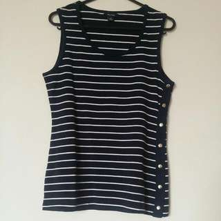 Nautica Sleevless Top *Reserved