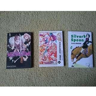 paket manga random